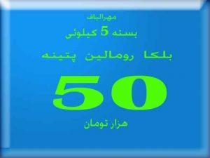 قیمت هر بسته پتینه